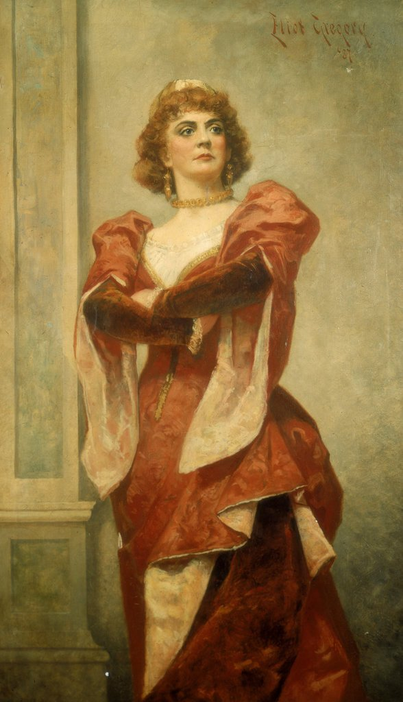 Detail of Ada Rehan (1860-1916) as Katharine in The Taming of the Shrew by Eliot Gregory