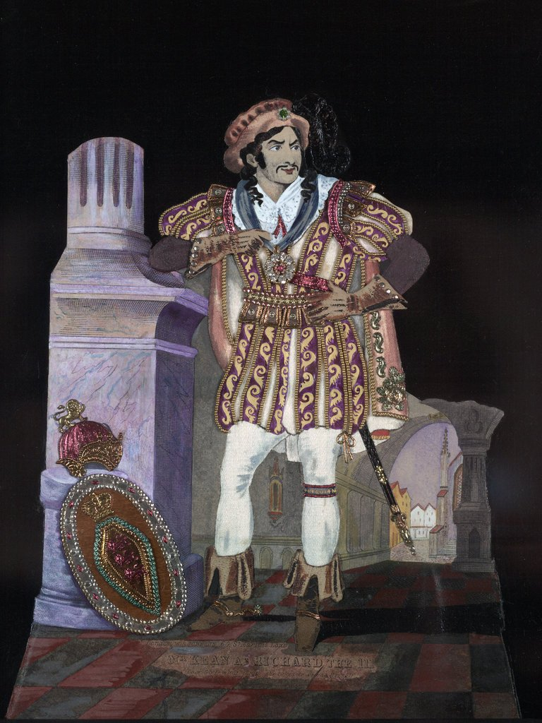 Detail of Mr. Kean as Richard III by S Johnson