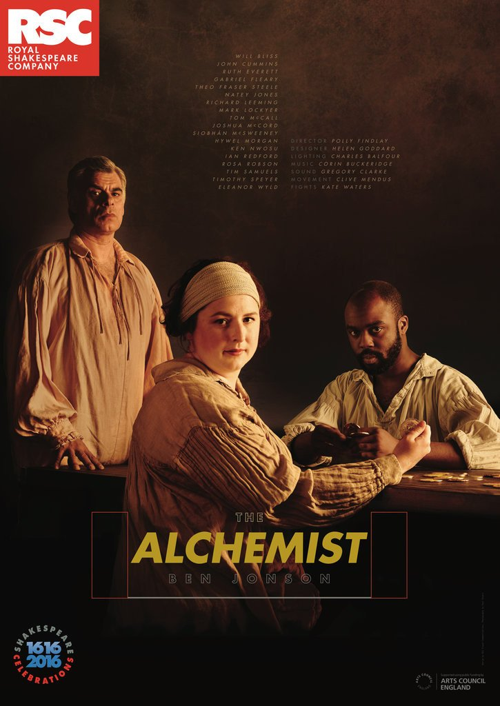 Detail of Alchemist, 2016 by Royal Shakespeare Company