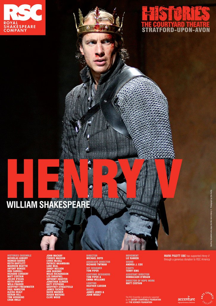 Detail of Henry V, 2007 by Michael Boyd