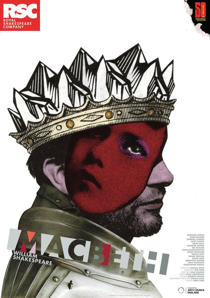 Detail of Macbeth, 2011 by Michael Boyd
