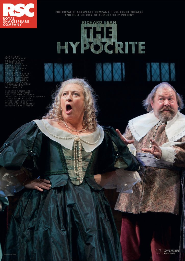 Detail of The Hypocrite by Royal Shakespeare Company