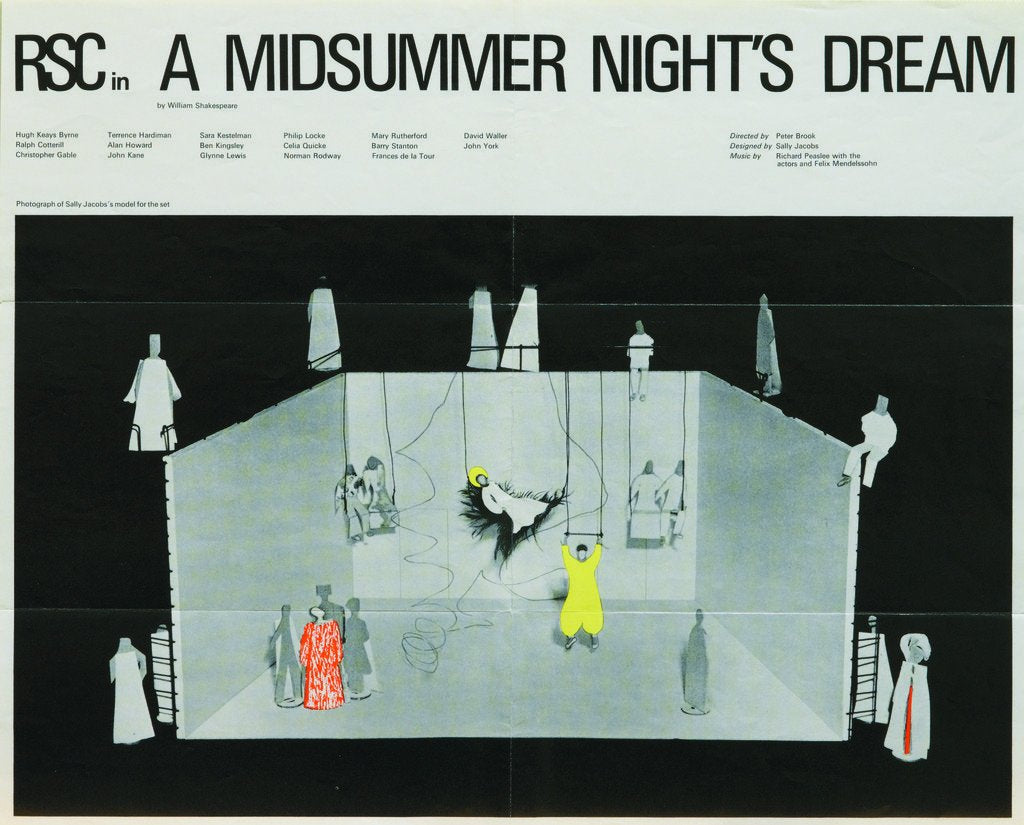 Detail of A Midsummer Night's Dream, 1970 by Peter Brook