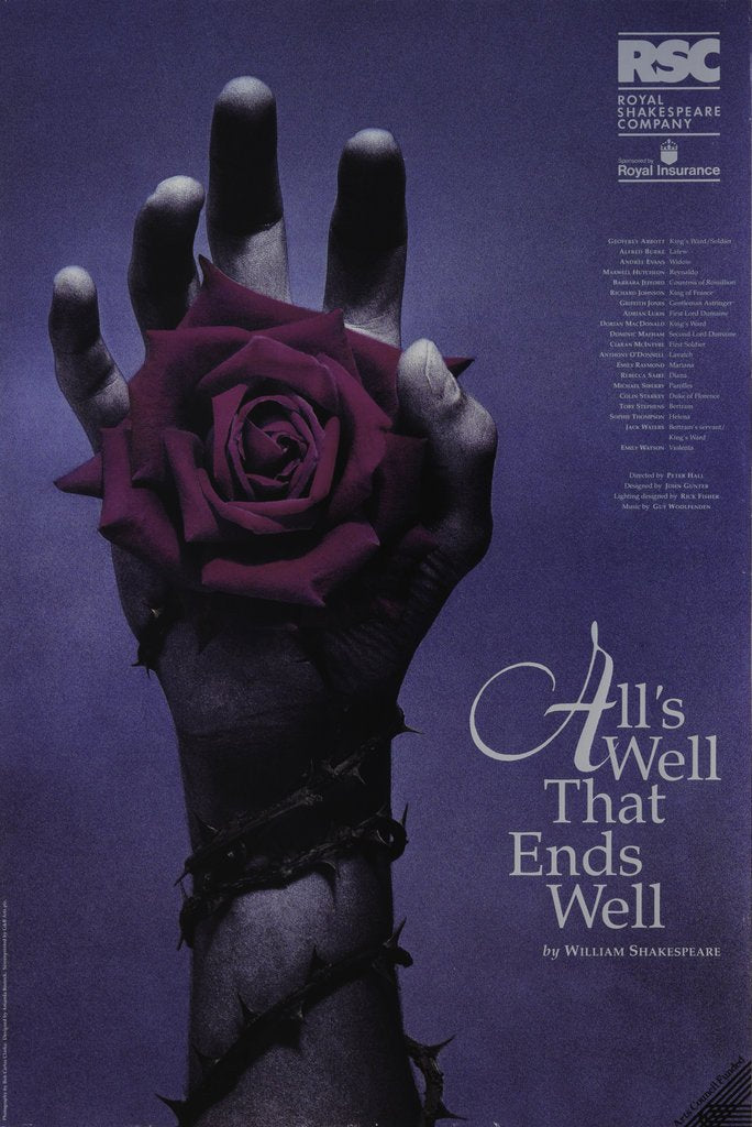 All's Well That Ends Well, 1992 by Peter Hall