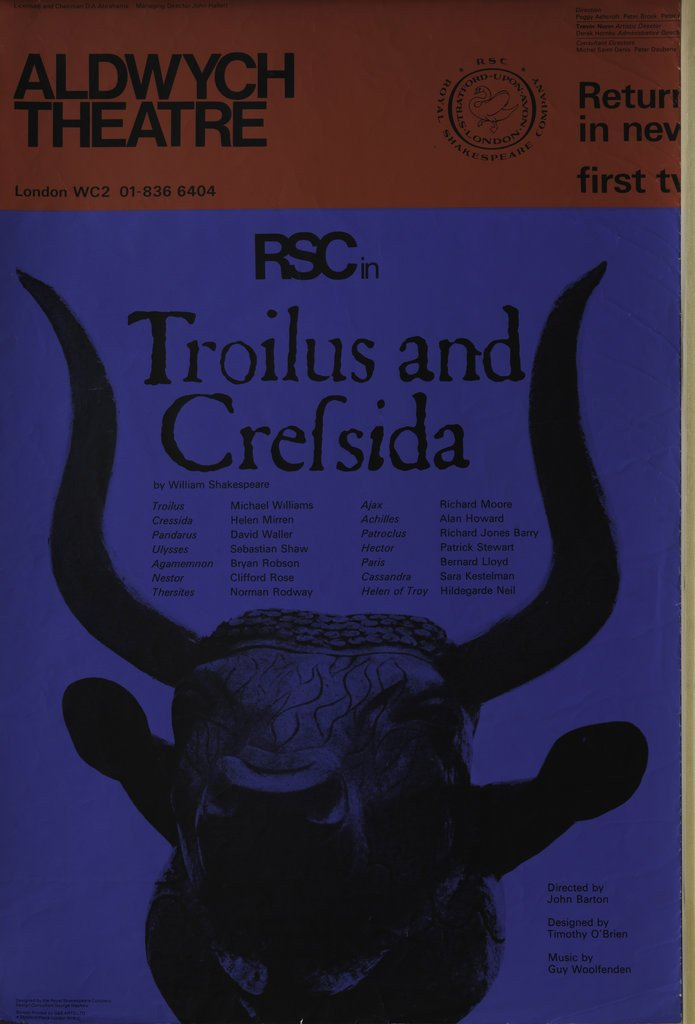 Detail of Troilus and Cressida, 1969 by John Barton