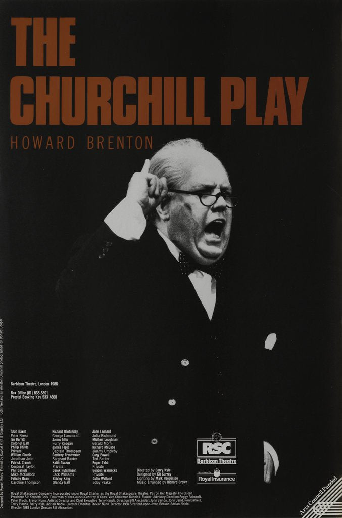Detail of The Churchill Play, 1988 by Barry Kyle