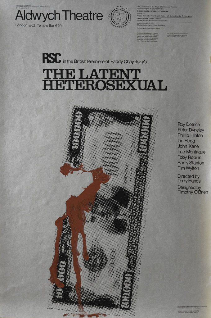 The Latent Hetrosexual, 1968 by Terry Hands