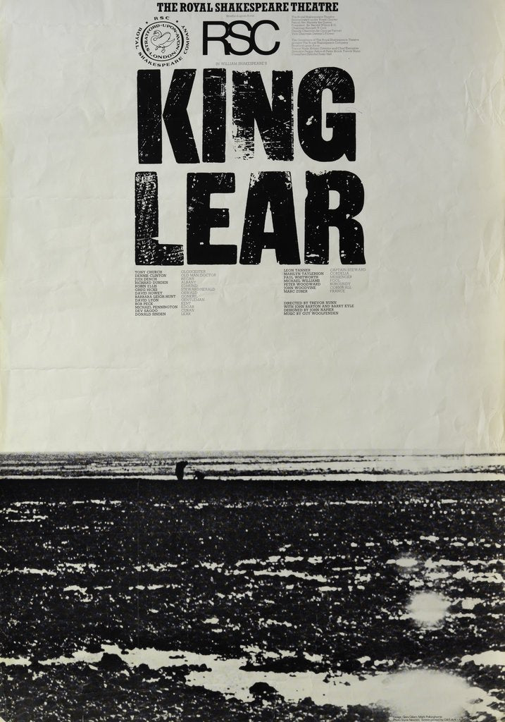 Detail of King Lear, 1976 by Trevor Nunn