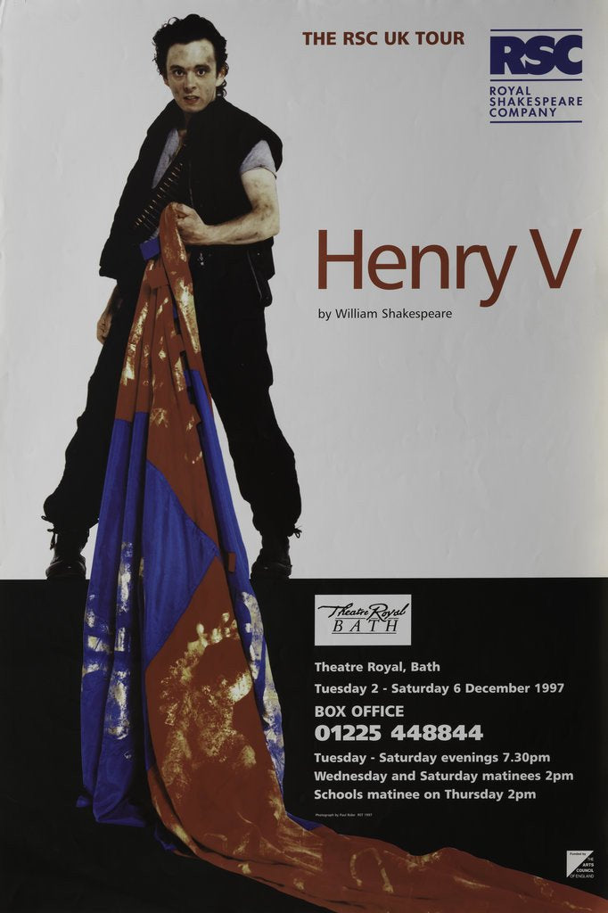 Detail of Henry V, 1997 by Ron Daniels