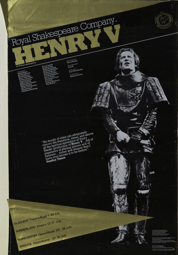 Detail of Henry V, 1975 by Terry Hands