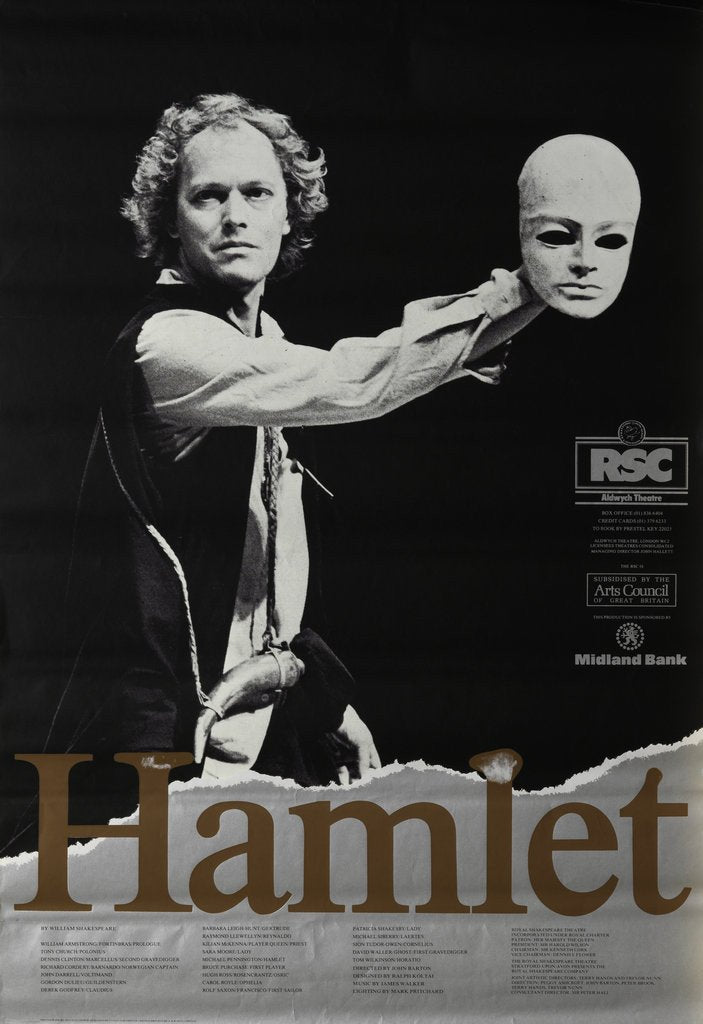 Detail of Hamlet, 1981 by John Barton