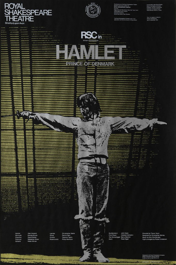 Detail of Hamlet, 1970 by Trevor Nunn