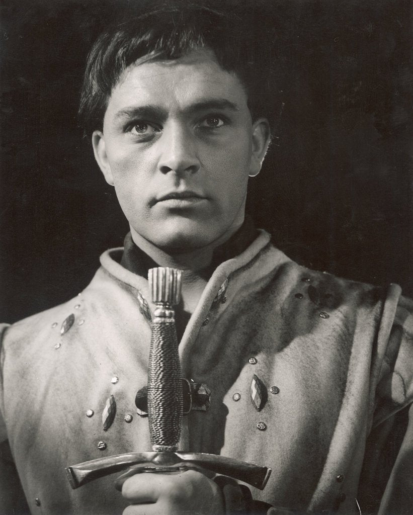 Detail of Henry IV Part 1 1951, Richard Burton as Prince Hal by Angus McBean