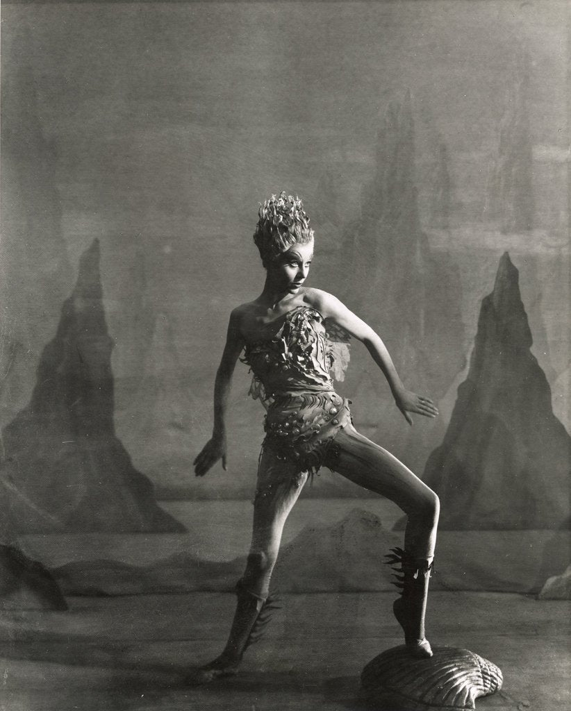 Detail of The Tempest 1952, Margaret Leighton as Ariel by Angus McBean