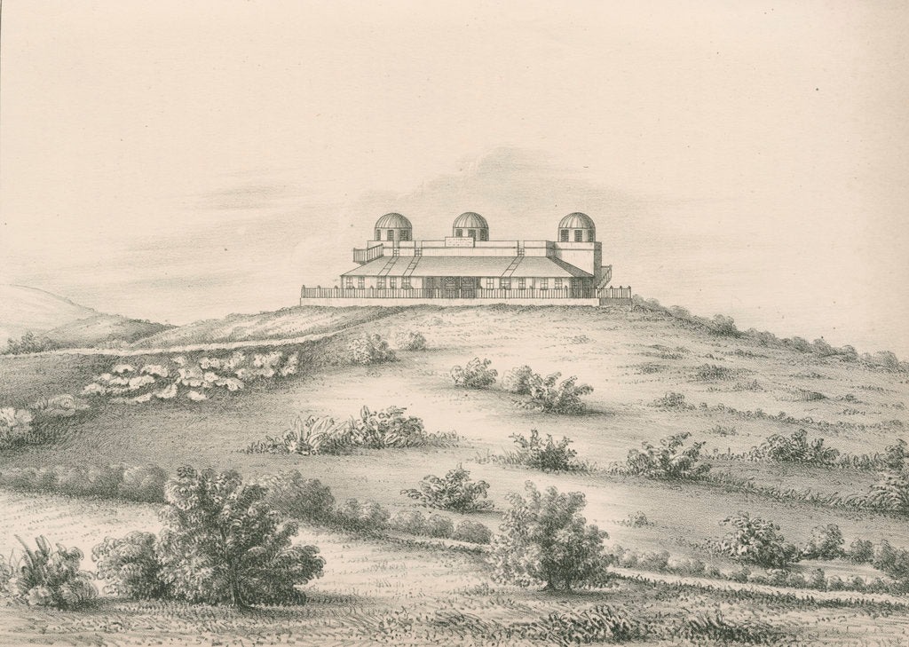 'Trevandrum Observatory...from the North West' by Anonymous