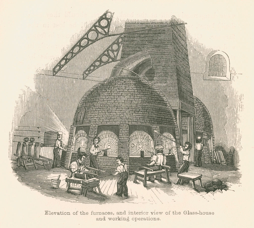 Detail of Falcon Glassworks, Blackfriars by unknown