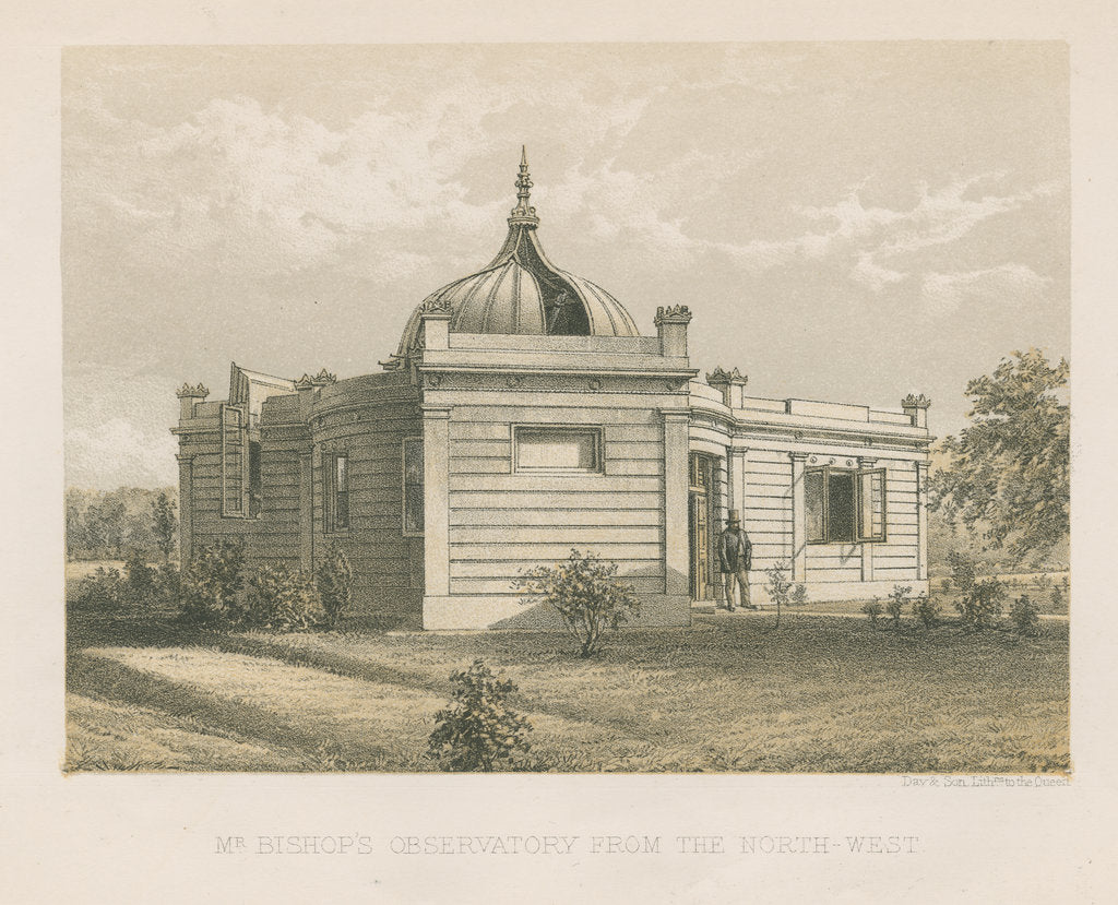 Detail of Bishop's Observatory, Twickenham by Day & Son