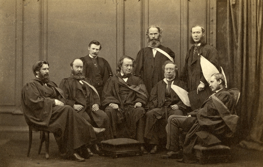 Detail of Group portrait of Andersonian Professors by Cramb Brothers