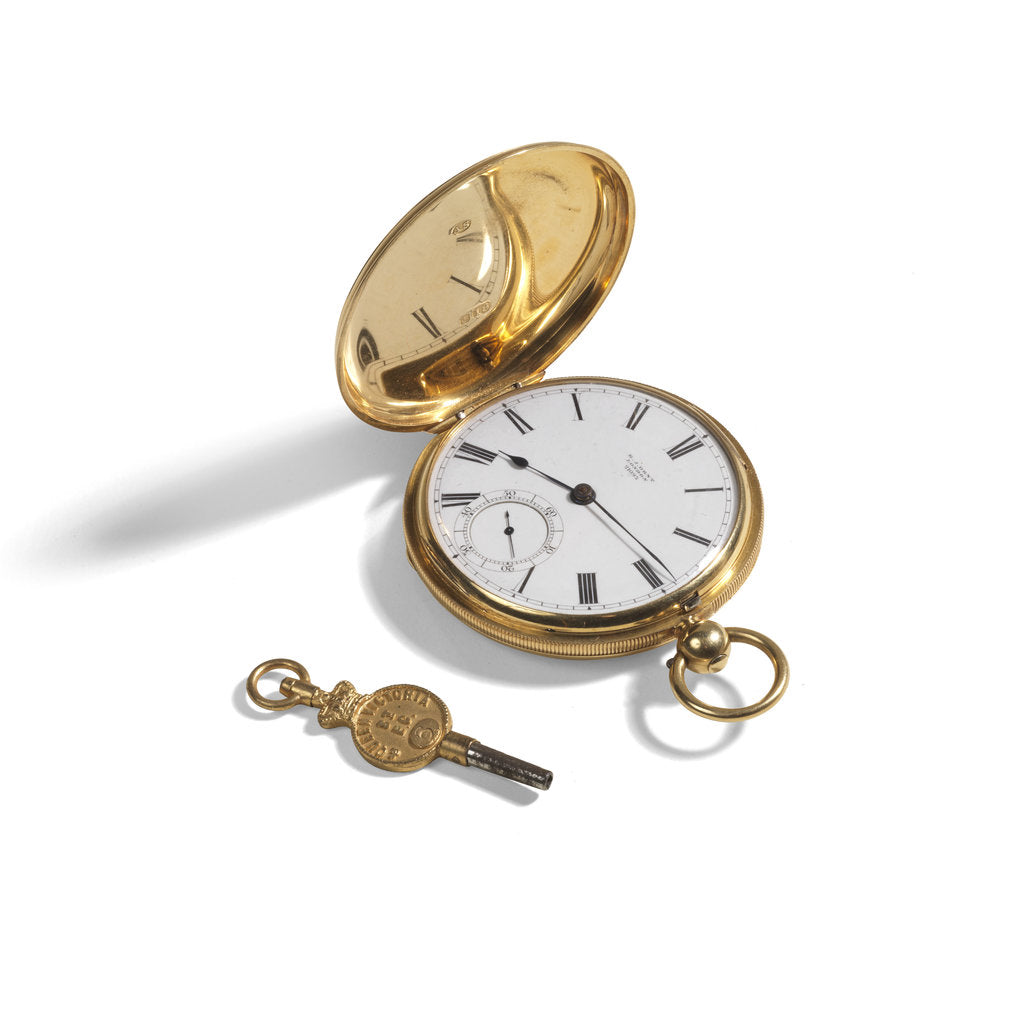 Detail of Pocket watch by E J Dent and Company