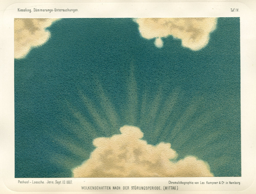 Cloud shadow, noon by Leo Krauss and Company