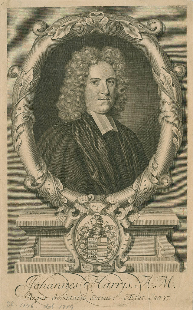 Portrait of John Harris (1661-1719) by George White