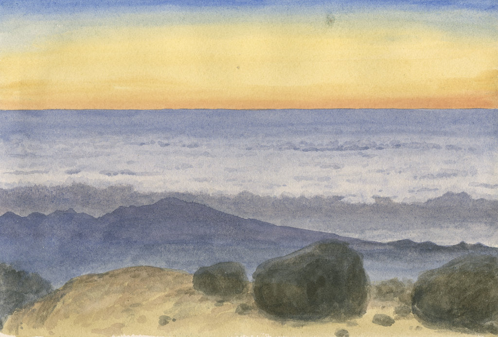 Detail of Cloud horizon by Charles Piazzi Smyth