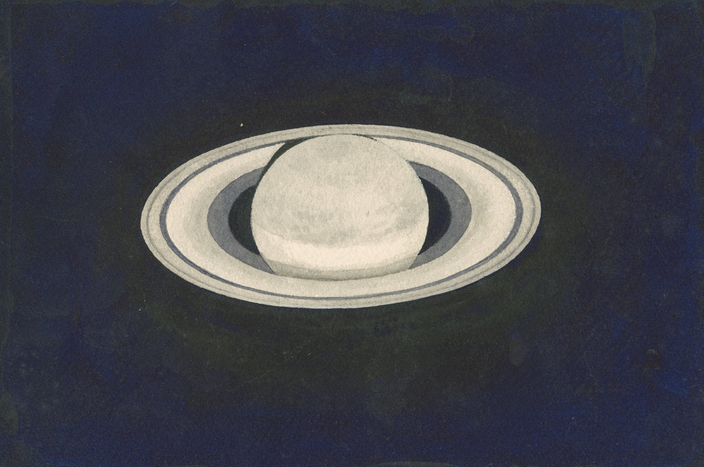 Detail of Saturn by Charles Piazzi Smyth