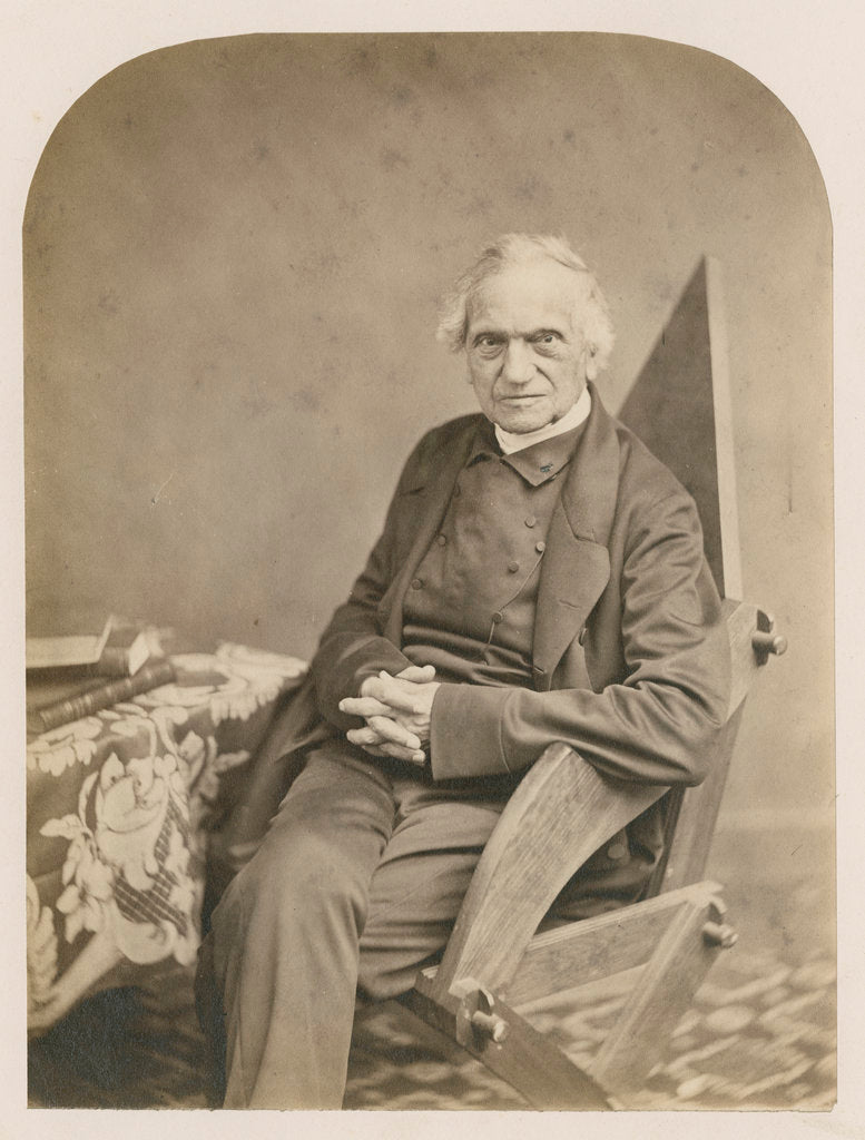 Portrait of Adam Sedgwick (1785-1873) by Robert Hills