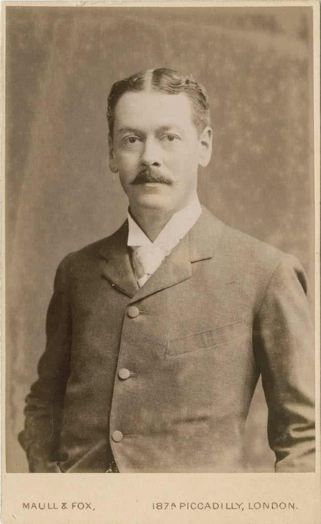 Portrait of Alfred Barnard Basset (1854-1930) by Maull & Fox