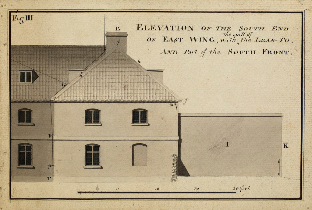 Detail of Elevation of the South endà [of Heckingham Workhouse, Norfolk] by Anonymous