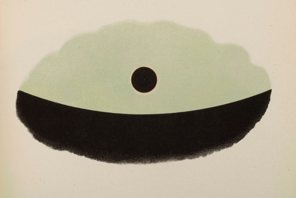 Detail of Mr G.D. Hirst's observations of the transit of Venus by Anonymous