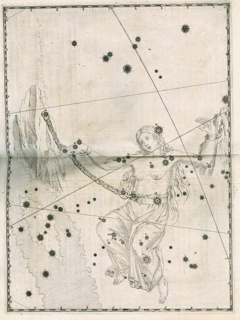 Detail of Constellation of Andromeda by Alexander Mair