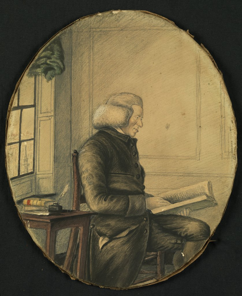 Portrait of William Jones (1726-1800) by Anonymous