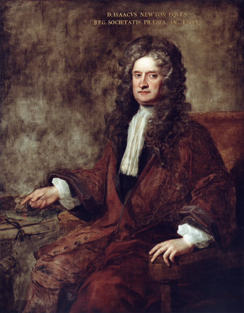 Portrait of Isaac Newton (1642-1727) by Charles Jervas