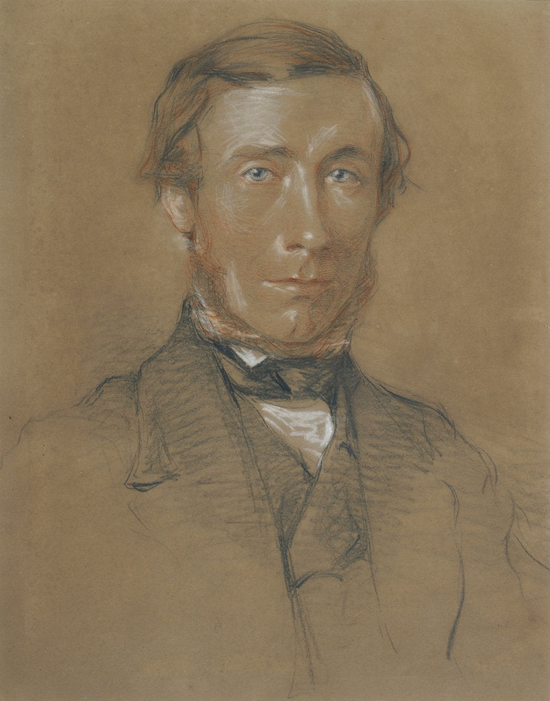 Detail of Portrait of John Tyndall (1820-1893) by Henderson of Halifax