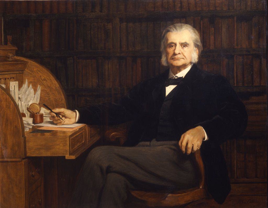 Portrait of Thomas Henry Huxley (1825-1895) by John Collier