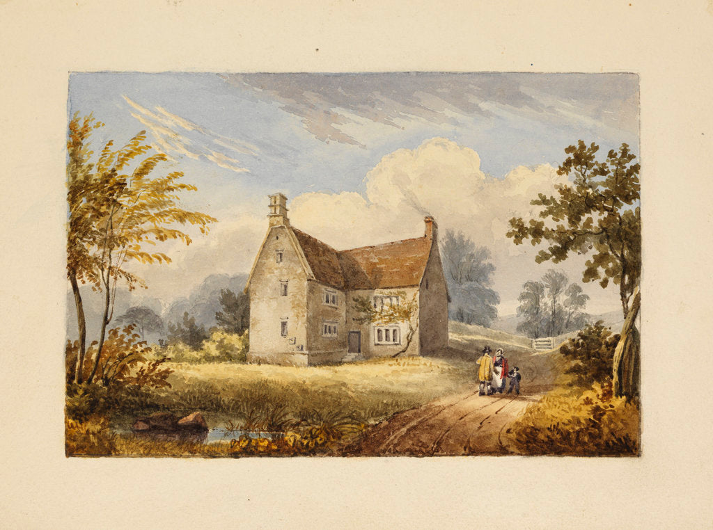 Woolsthorpe Manor by Thomas Howison