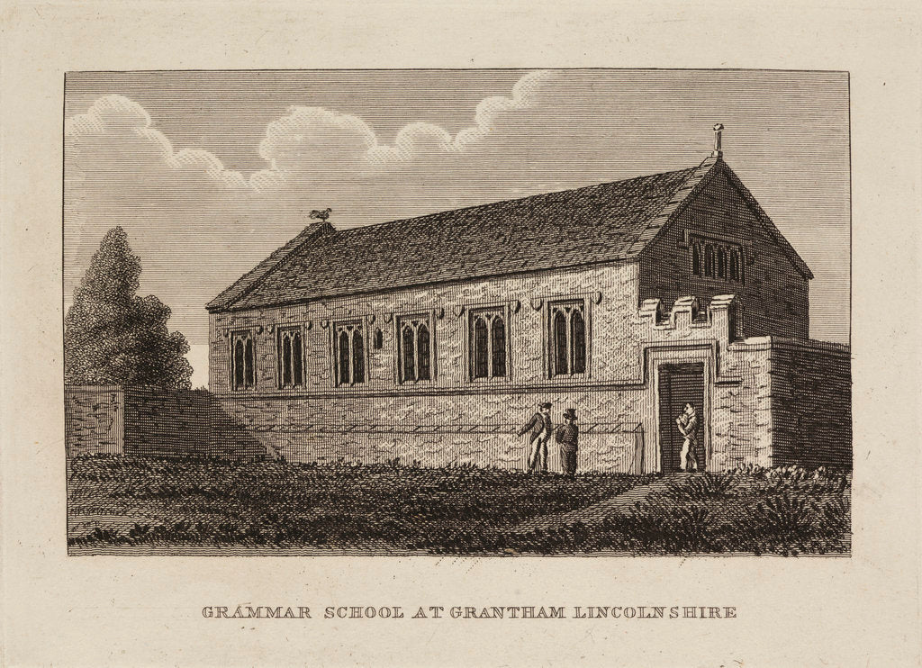 Detail of Grantham School, Lincolnshire by Anonymous