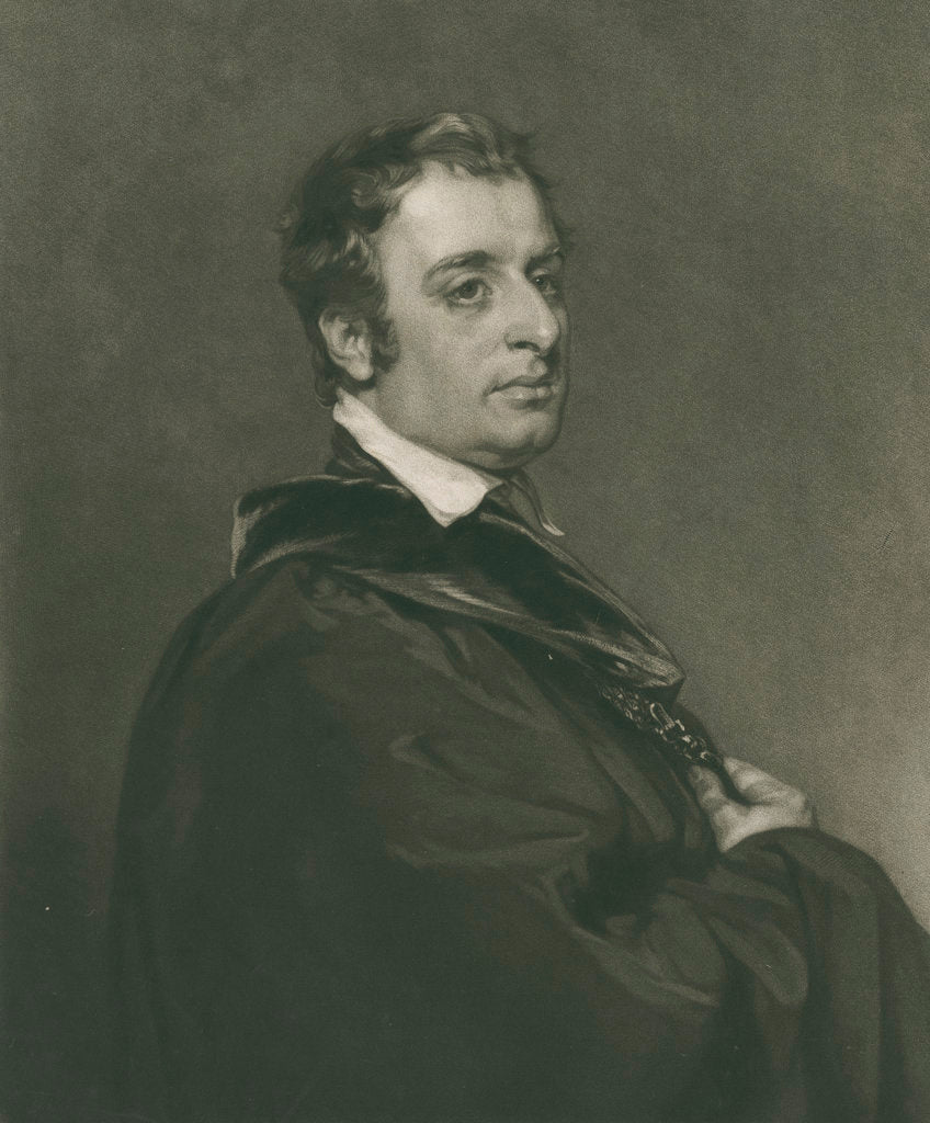 Detail of Portrait of John Gage Rokewode (1786-1842) by Thomas Hodgetts