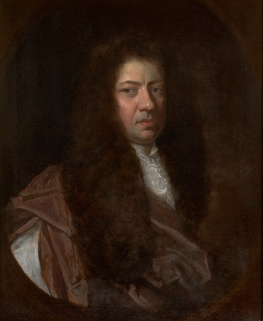 Detail of Portrait of Samuel Pepys (1633-1703) by Godfrey Kneller