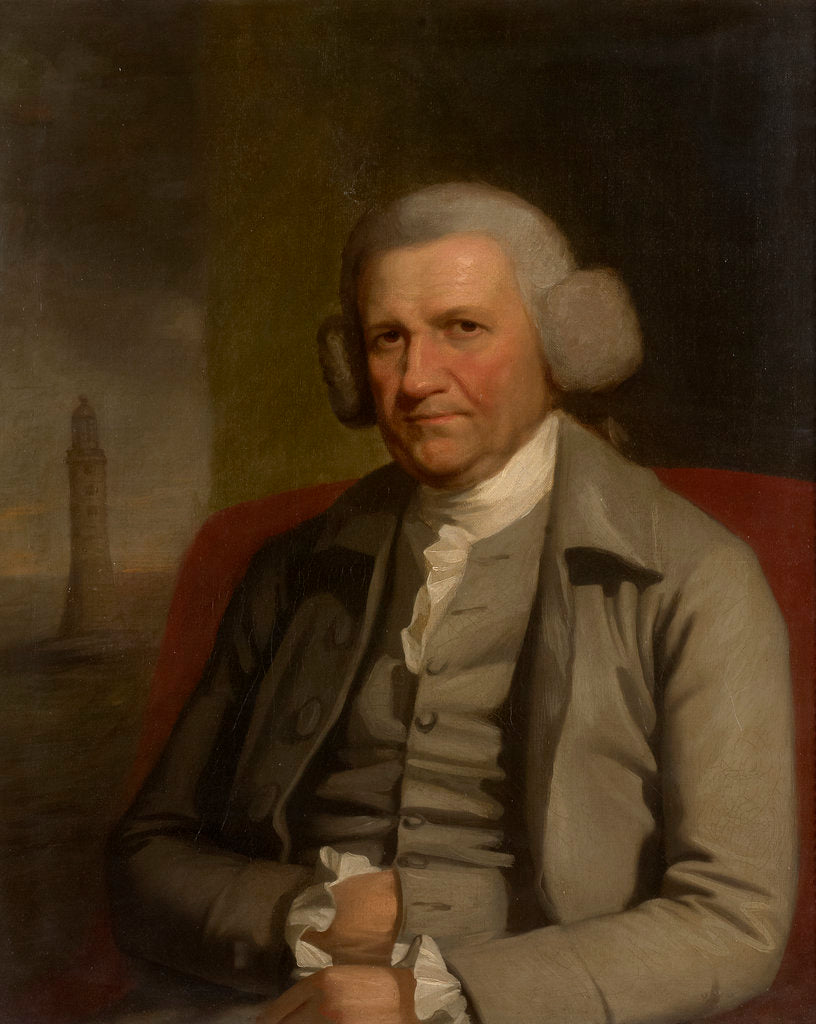 Detail of Portrait of John Smeaton (1724-1792) by Mather Brown