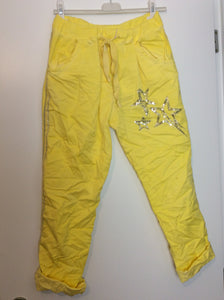 Pantalon star jaune