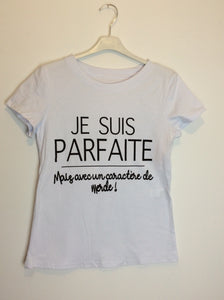 T-shirt Parfair blanc