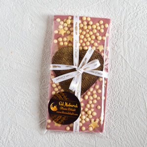 Artisan  Ruby Chocolate heart gift
