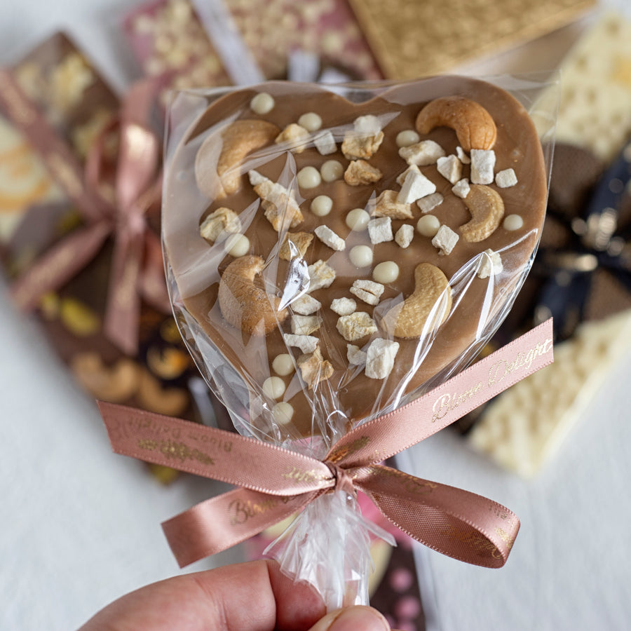 Gold chocolate candy pop gift occasion