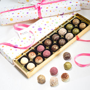 Fruit and summer truffle collection
