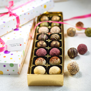 Chocolate truffles selection for Eid