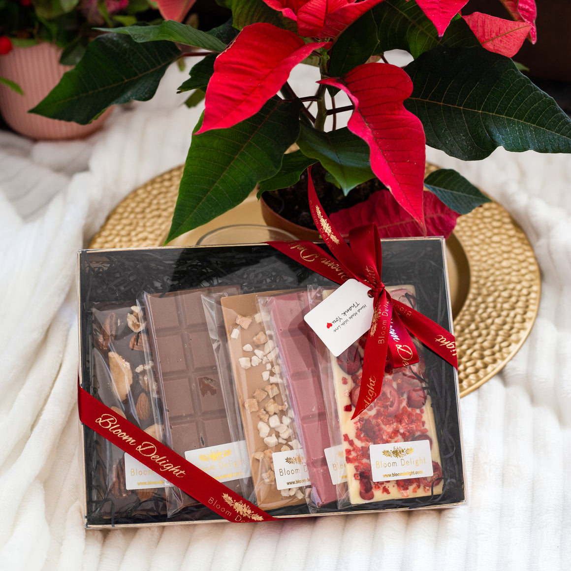 chocolate bar selection box gift idea
