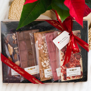 luxury chocolate box artisan bars