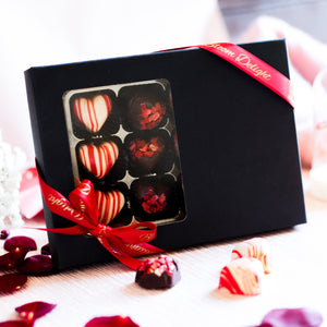 romantic luxury chocolate gift box